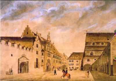 PK 15: Altes Kollegiengebäude am Rathausplatz