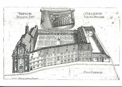 PK 14: Jesuitenkolleg um 1727
