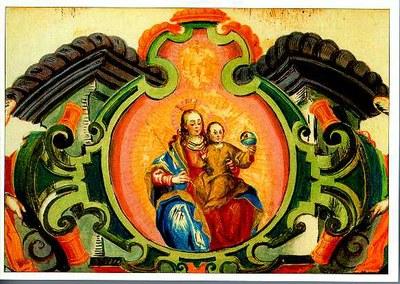 KK 13: Mutter Gottes mit Christuskind