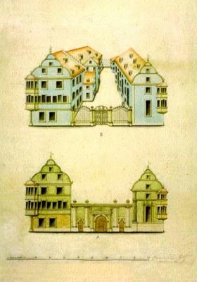 PK 17: Neues Rathaus (Altes Kollegiengebäude1817)