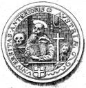 S 03: Siegel der Exilsuniversität in Konstanz 1677